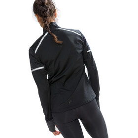 Craft Urban Run Thermal Wind Jacket Women black/silver reflective